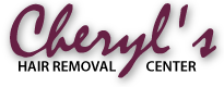 Cheryls Hair Removal Center Logo